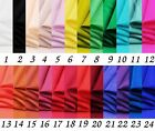 100% pure silk habutai lining fabric 8 MM sell by yard multi color bright series