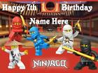 Ninjago cake topper edible rice paper. View and select your favourite image!