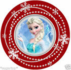 "CHRISTMAS FROZEN Elsa 24 x 2"" or Large 7.5"" Edible Cake Topper Rice Paper"