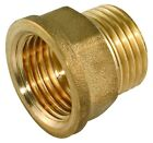 "Tap Extension Brass BSP 1/2"" - 3/4""  Male to Female to Extend Tap Screw Thread"