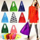 Newest Women Foldable Waterproof Storage Eco Reusable Shopping Tote Grocery Bags
