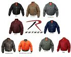 MA 1 Bomber Jacket Rothco Air Force Military Reversible Flight Coat Jacket NEW