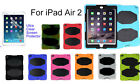 For iPad Air 2  Screen protector / Heavy Duty Shock Proof case with kick stand