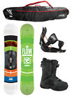2015 FLOW MERC Brite 153cm Snowboard+Flow Flite Bindings+Flow BOA Boots+FLOW BAG
