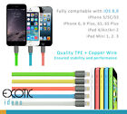 8 Pins Lightning USB Cable for iPhone 5/5C/5S,iPhone 6/6 Plus w TPE+Copper Wire