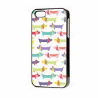 SAUSAGE DOG CUTE 5 PHONE CASE APPLE IPHONE 4-4S/5/5S/5C FREE P&P dachshund dog