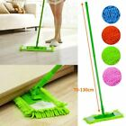 EXTENDABLE FIBRE MOP SWEEPER 70-130cm KITCHEN TILE DRY WET FLOOR CLEANER HOME
