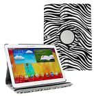 360 Rotating PU Leather Case Cover Stand for Samsung Galaxy Note 10.1 2014 P601