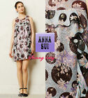 NWT 6 8 Anthropologie Cyprium Jacquard Shift By Anna Sui USA Stunning Flattering
