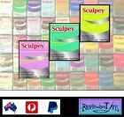 Sculpey Iii Oven Bake Polymer Clay - 57gm Blocks - 44 Colors + Free Storage Bags