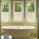 Privacy White Frosted Window Film Frost Etched Glass Sticky Back Plastic Colours