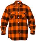 Rothco 4739 Men's Brawny Buffalo Plaid Long Sleeve Flannel Shirt Heavyweight  <br/> 9 Colors to Choose From