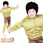 Deluxe Hulk Boys Fancy Dress Comic Book Superhero Kids Childrens Costume Outfit