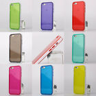New Colorful Thin Clear TPU Gel Skin Case Back Cover for Apple iPhone 6 4.7""