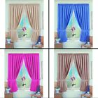 BLACKOUT THERMAL NORFOLK READY MADE TAPE TOP CURTAINS PINK BLUE CREAM TAUPE