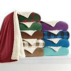 Refael Collection Ultra Plush Sherpa Comforter in Queen and King and 8 Colors