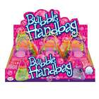Toyrific Bubble Handbag TY 5400 7Fl.oz in Pink, Purple, Orange and Green