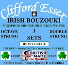 IRISH BOUZOUKI STRINGS -  HEAVY GAUGE - 3 x SETS - 10% DISCOUNT. MADE IN THE UK.