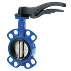 """CAST IRON WAFER BUTTERFLY VALVE - EPDM SEAT, STAINLESS DISC - 2"""" TO 12"""""""