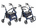Duet Rollator Walker   Transport Wheelchair -Pre-Owned - See Details