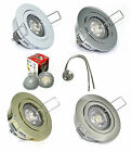Decken Einbau Spot Lana 12V MR16 LED 5W = 35W IP20