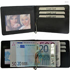 Dollar Clip With Coin Pocket Fine Leather 7 Fan Money Clip Wallet