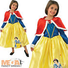 Snow White Winter Wonderland Girls Disney Fancy Dress Costume + Cape Ages 3-8 Yr