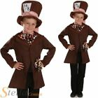 Boys Little Mad Hatter Book Week Tea Party Wonderland Fancy Dress Costume Outfit