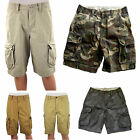 NEW Mens American Eagle Cotton Army Vintage Camouflage Camo Cargo Combat Shorts