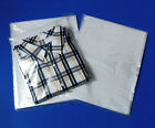 12x15' Clear Poly Bags Lay-Flat Open Top End 1-Mil Case LDPE Plastic ml T-Shirt