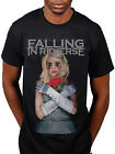 Official Falling In Reverse The Drug In Me Is You T-Shirt Rock Band Hardcore