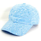 Rhinestone Baseball Cap Glitter Sequin Sparkly Bling Women Summer Hat Sun Lady