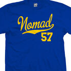 Nomad 57 Script Tail T-Shirt - 1957 Classic Lowrider Tee - All Sizes & Colors