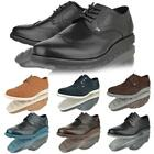 Mens Brogue lace up casual smart office work Firetrap black shoes boots size