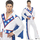 Evel Knieval Stuntman Fancy Dress Costume 1960s Daredevil Outfit