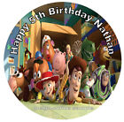 Edible personalized Toy Story Cake Topper, Real Edible Icing CakeTopper