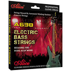 BASS GUITAR STRINGS 4 string nickel roundwound LONG SCALE light or medium gauge