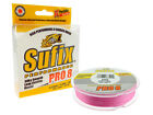 NEW 2015 SUFIX Performance Pro 8 / 0,10mm - 0,24mm / Pink & Lo-Vis Green / 135m