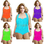 Chubby Women Tassel PLUS Size Bikini Swimwear Set Ladies Beach Bathing Swimsuit