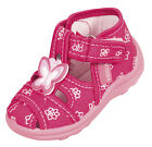 Girls canvas shoes slippers casual trainers sandals kids infants 3 4 5 6 7 8 UK
