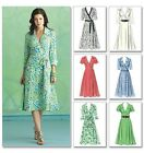 Butterick 5030 Flared Skirt Day Wrap Dress Sewing Pattern B5030 6 Views!