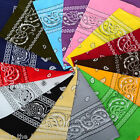 Paisley Bandana Headwear/Hair Band Scarf Neck Wrist Wrap Band Headtie All Colour