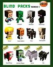 MINECRAFT MYSTERY MINI BOX - CHOOSE YOUR FIGURE - WAVE 1 GRASS SERIES VERY SMALL