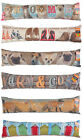 PHOTOCHROMATIC DOOR DRAUGHT EXCLUDER ENERGY SAVER-SHOES/DOGS/FOXES/HUTS/CATS