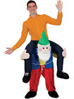 Carry Me Ride On Novelty Garden Gnome Stag Night Mascot Fancy Dress Costume