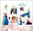 Disney Frozen Elsa Anna Olaf Kids Nursey Extra Large 60 x 90 Wall Sticker cc6969