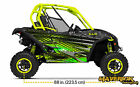 Can Am Maverick Hades Manta Green  Decal Graphic Kit Wraps