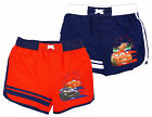 Boy's Disney Pixar CARS Lightning McQueen Mesh Lined Swim Shorts 3-8 Years NEW