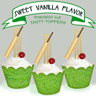 Cricket EDIBLE Vanilla wafer Cupcake Cake Toppers PRECUT cup cake