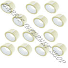 1,2,6,12,18,24,36,72 ROLLS OF CLEAR PARCEL PACKING ADHESIVE CELLOTAPE 48mm x 66M